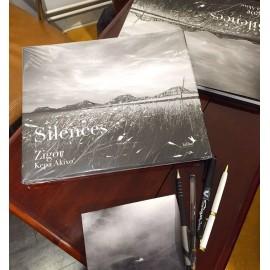 """Livre """"Le silence"""" de Zigor"""