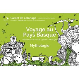 Coloriage Mythologie au Pays Basque