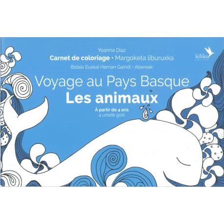 """Coloriage Voyage au Pays Basque """"Les Animaux"""""""