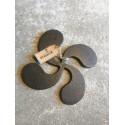 Dessous de plat croix basque en fer forgé