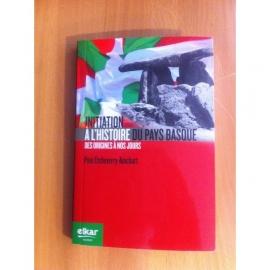 Livre Initiation à l'histoire du Pays Basque
