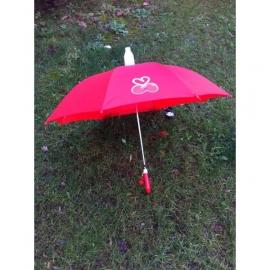 Parapluie Enfant Rouge Cerise Ouvert